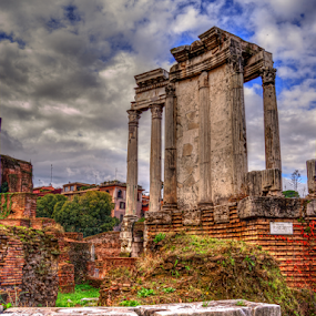 Reaching for the Sky by Darin Williams - Buildings & Architecture Decaying & Abandoned ( forum, ruin, roman )