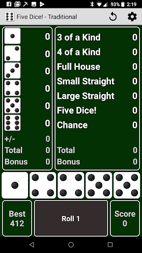 Five Dice! Free android-1mod screenshots 1