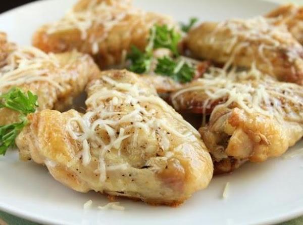 Garlic-parmesan Chicken Wings Recipe