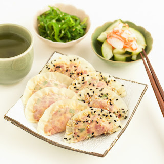 Spicy Tuna Dumplings
