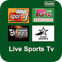 Live Sports Tv Channels HD Cricket Streaming Guide icon