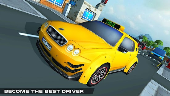 Taxi Simulator: Blocky Taxi Game - náhled