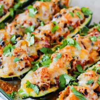Zucchini Boats Vegetarian Recipes.