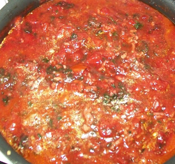 My Basic Pasta Sauce { No Meat } Recipe