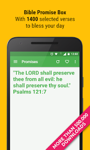 Bible Promise Box - Verse of the day to share- screenshot thumbnail