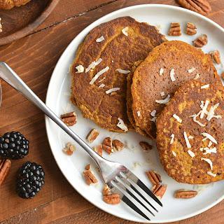 Pumpkin Spice Coconut Flour Pancakes Recipe