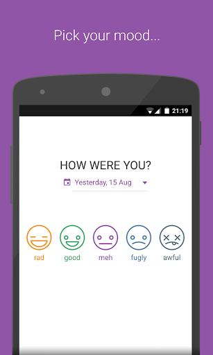 Mood Tracker - Private Diary