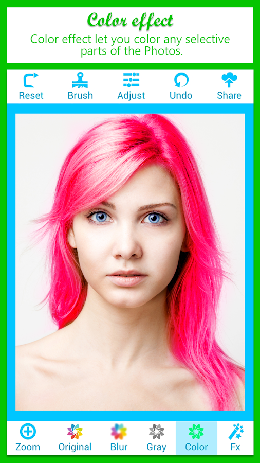 Color Splash Photo- screenshot