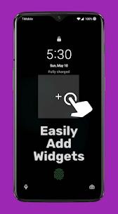 Lockscreen Widgets v1.10.5 [Paid] 2
