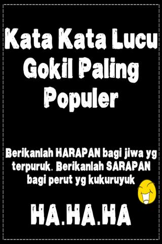Kata Kata Lucu Gokil Paling Populer Android تطبيقات Appagg