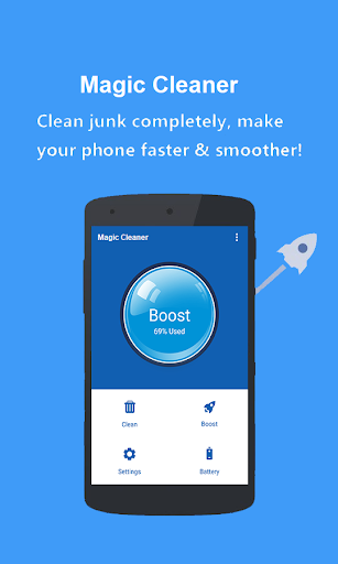 Screenshot for Magic Cleaner - Powerful Cleaner and Booster App in Hong Kong Play Store