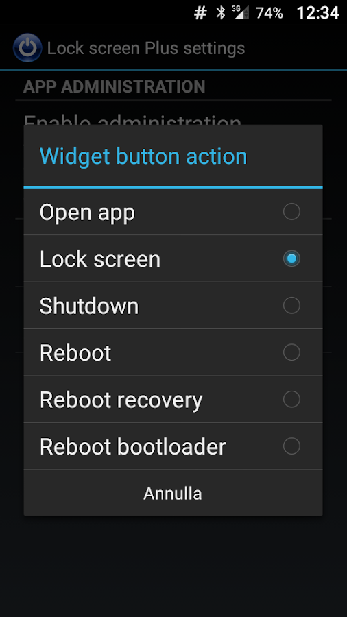 screen lock reboot widget android apps on google play. Black Bedroom Furniture Sets. Home Design Ideas