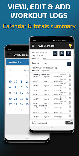 Gym Exercises & Workouts 3.30 screenshots 8
