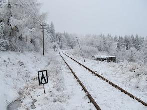 Photo: 16.Karpacka Linia Transwersalna (z 1884 r.). Dziś już niestety nieczynna. Podobno czasami jeżdżą tu pociągi w stylu retro.