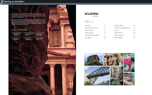 Kuoni Travel Brochures- screenshot thumbnail
