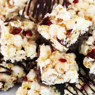 Candied Popcorn Bars.