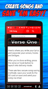Write Songs Songwriting Lyrics screenshot 1