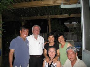 Photo: Từ trái sang:Đậu, Hoàng, Tú, Hà & chị Hương, anh Lung (họp mặt nhà bạn Đậu ,San Jose- CA- 17/05/09)