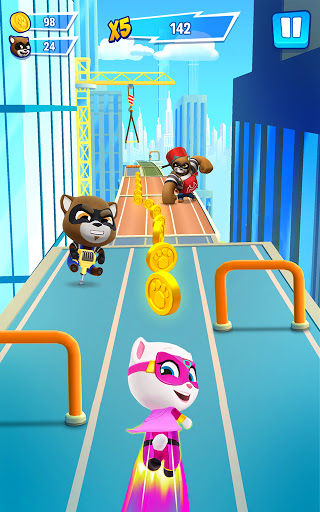 Talking Tom Hero Dash - Run Game screenshot 8