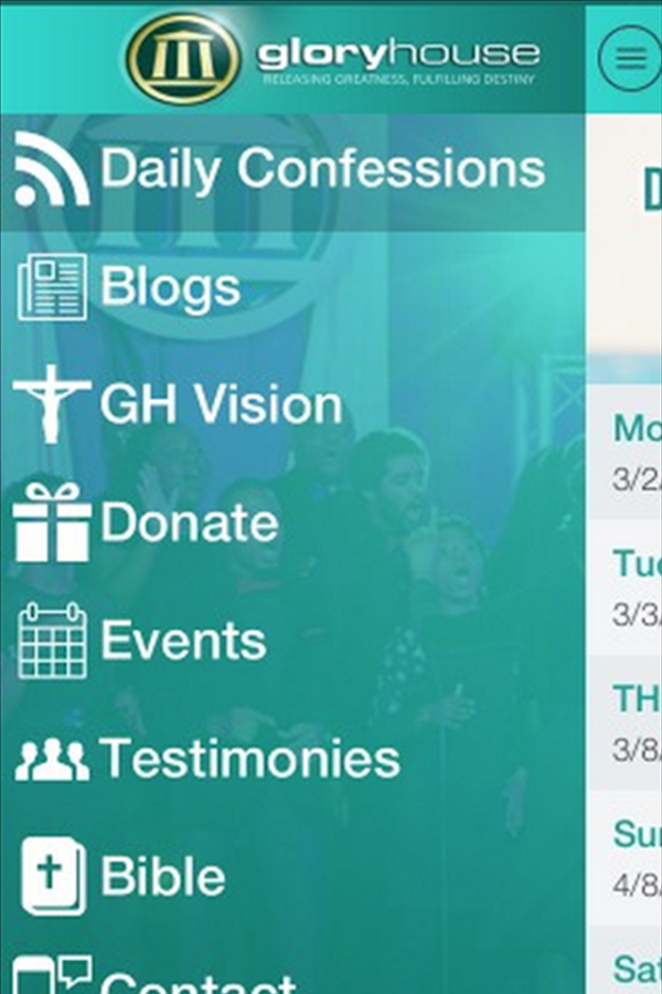 Glory House Church- screenshot