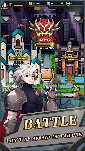 Infinite Knights - Turn-Based RPG apktram screenshots 2