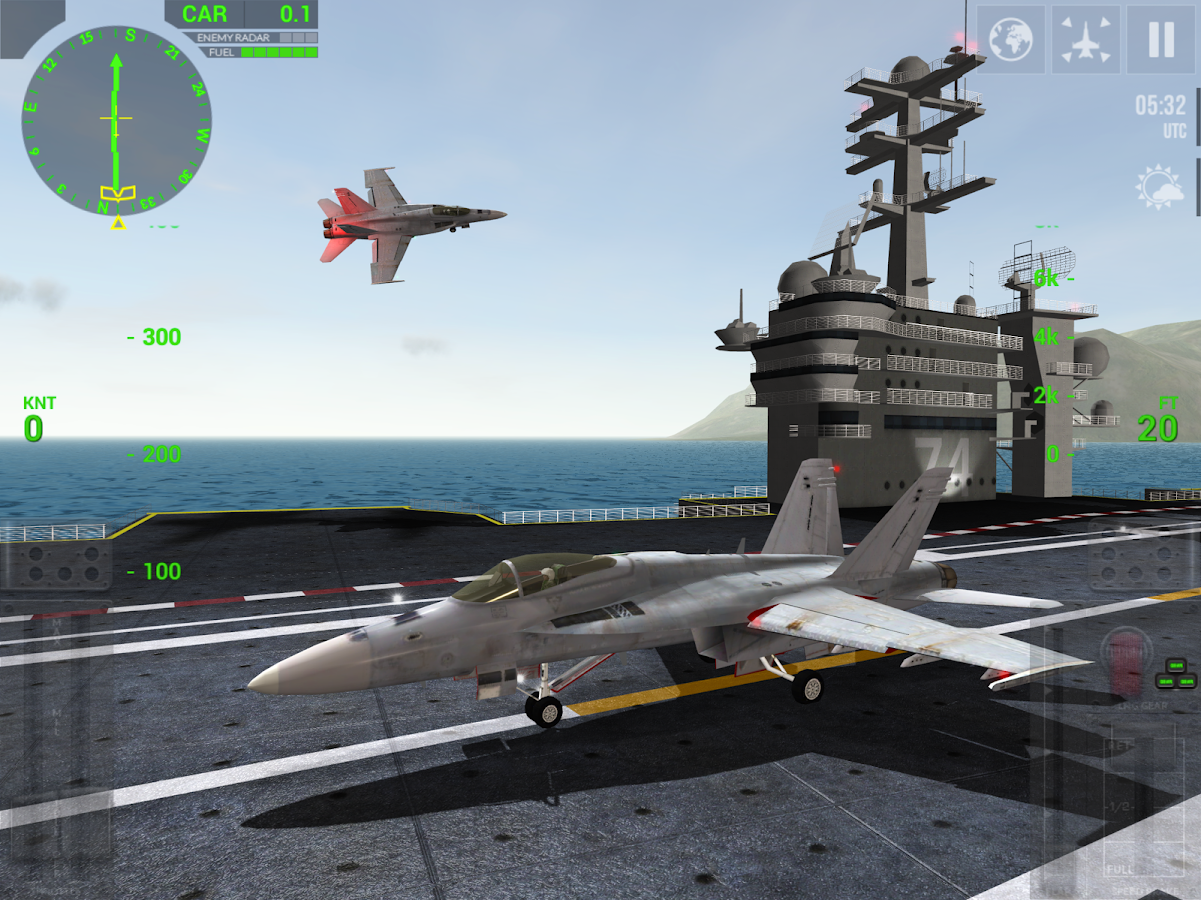 F18 Carrier Landing- screenshot
