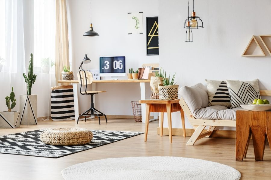 Pay Attention to the choice of textiles | Living room tips : Sociopup