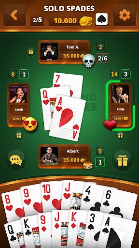 Spades -Batak HD Online filehippodl screenshot 1