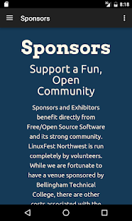 LinuxFest Northwest- screenshot thumbnail