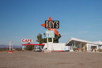 Photo: Roy's Motel Cafe, Route 66 February 2009