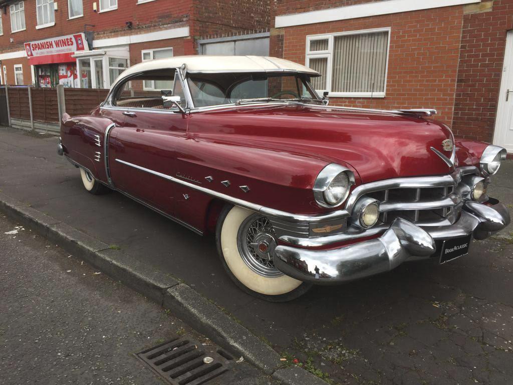 Cadillac De Ville Coupe Hire Manchester