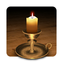 3D Melting Candle Live Wallpaper icon