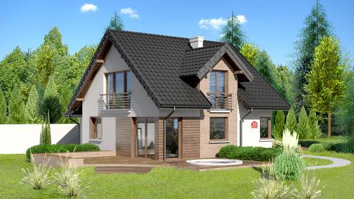 projekt Dom przy Cyprysowej 33