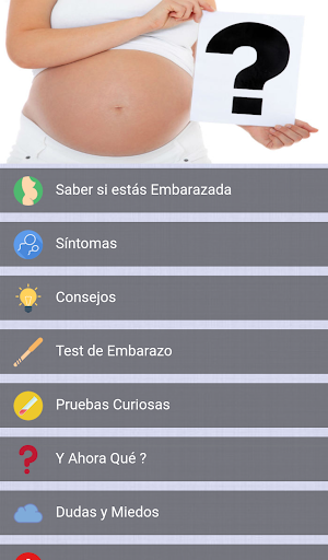 Saber si estu00e1s embarazada 1.1 Screenshots 6