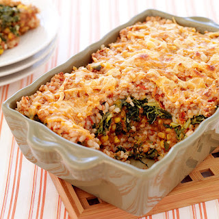 Mexican-Style Brown Rice Casserole.