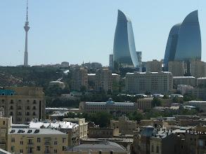 Photo: Baku felhőkarcolói