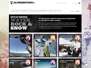 Photo: Alpinzentrum, www.alpinzentrum.ch Implemented by: Maxomedia AG