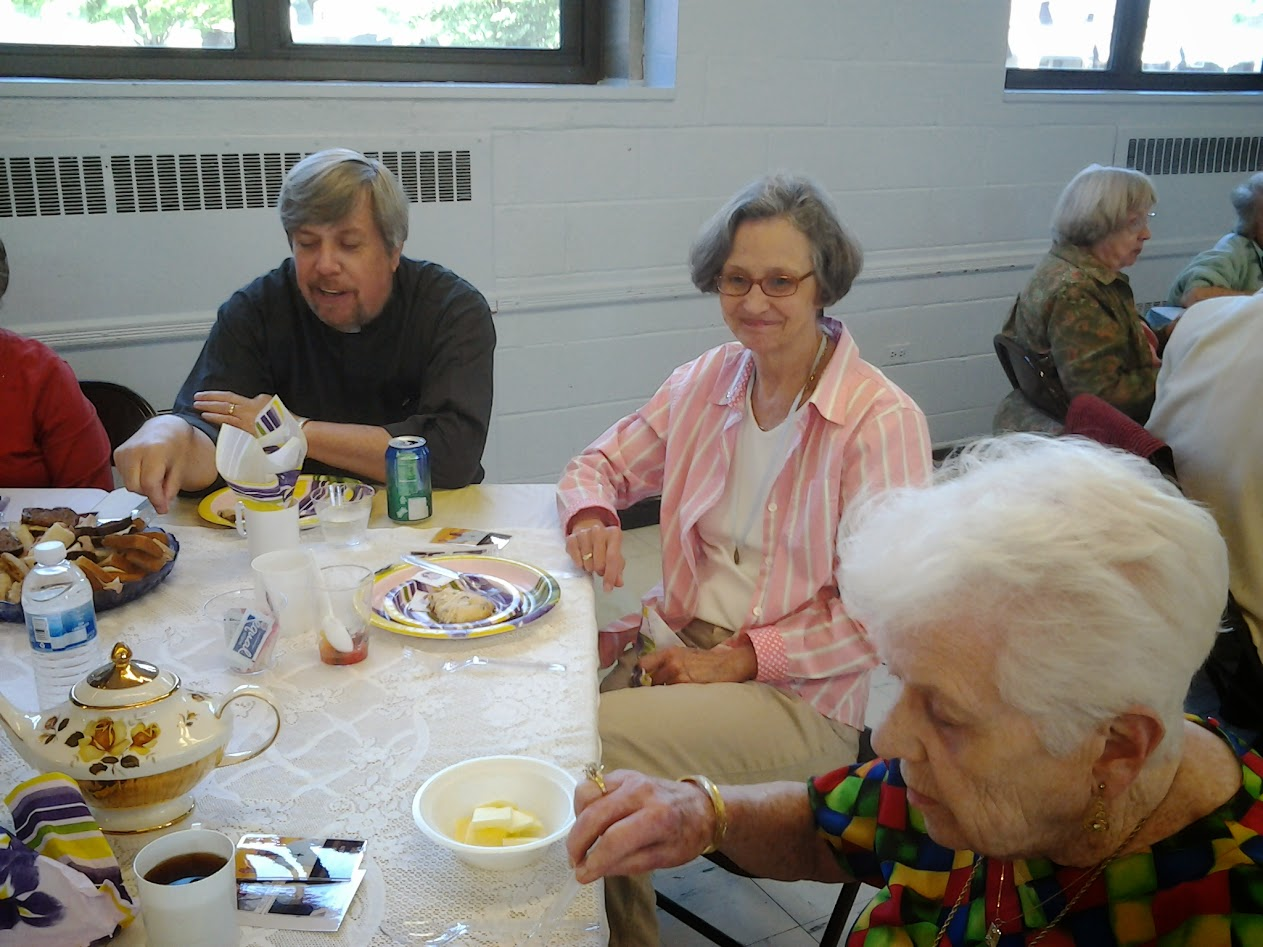 Sodality Ascension Thursday Tea - May 29, 2014