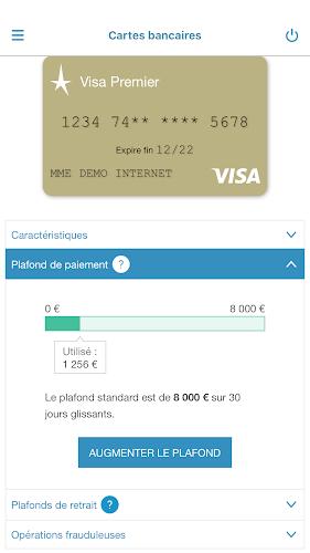 Crédit du Nord pour Mobile Android App Screenshot