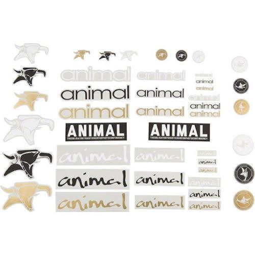 Animal BMX Assorted Sticker Pack: Set of 44