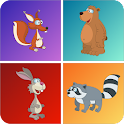 Kids Animal Games - Memo  icon