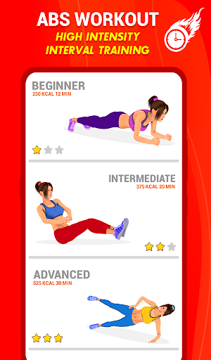 Six Pack Abs Workout 30 Day Fitness: HIIT Workouts 39.0 screenshots 21