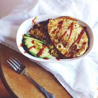 Polenta + Egg Breakfast Scramble.