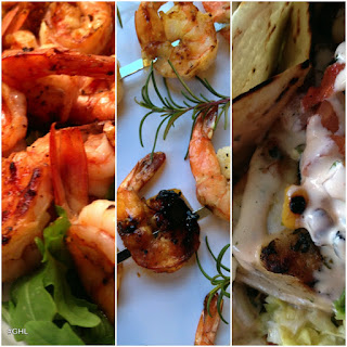 Cilantro Shrimp Nachos.