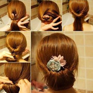 Simple Hair Style Tutorial - náhled
