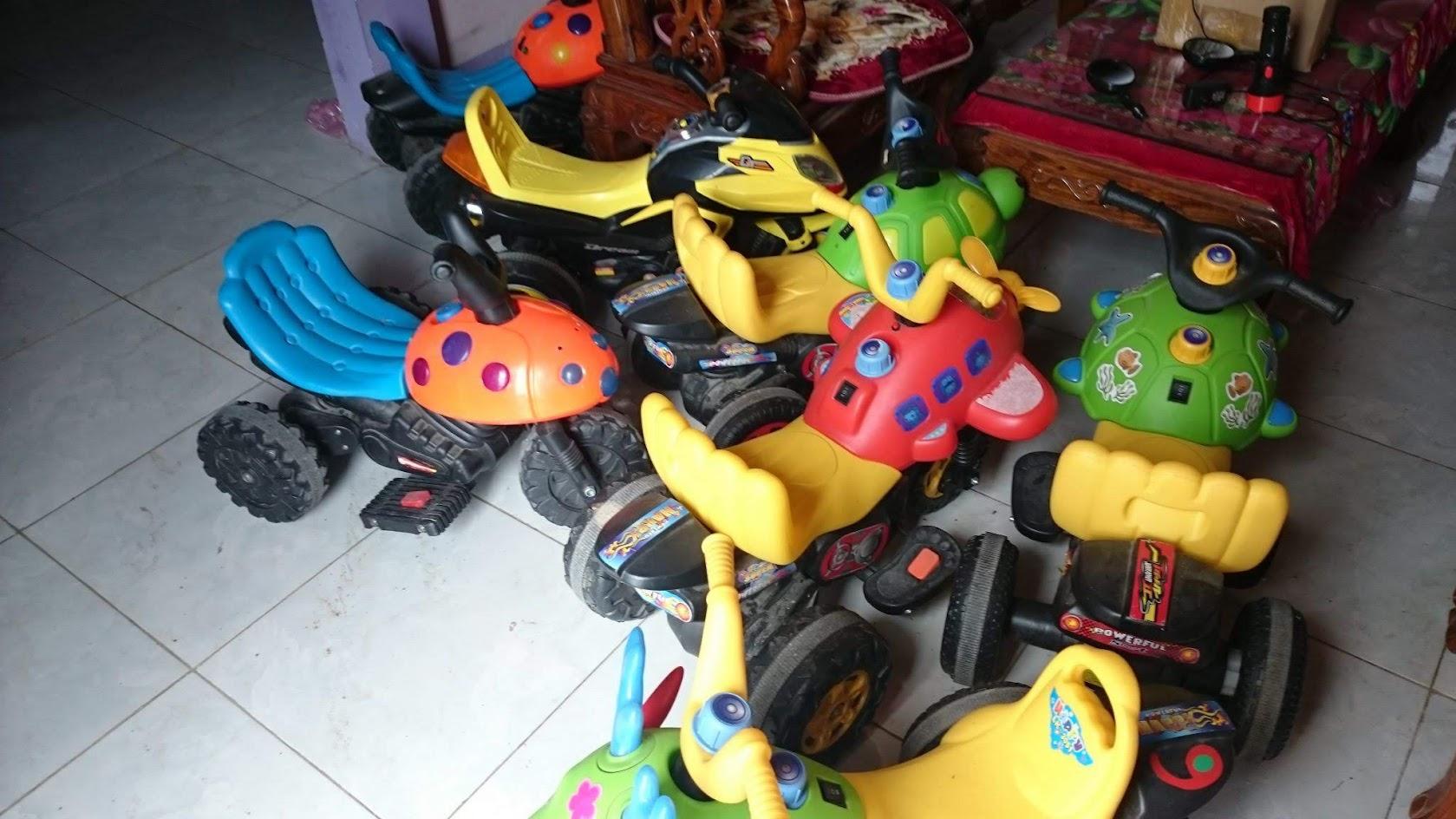 Có nên mua xe máy điện trẻ em cũ thanh lý 2