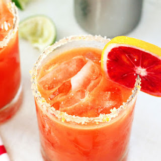 Ginger Blood Orange Cocktail Recipe