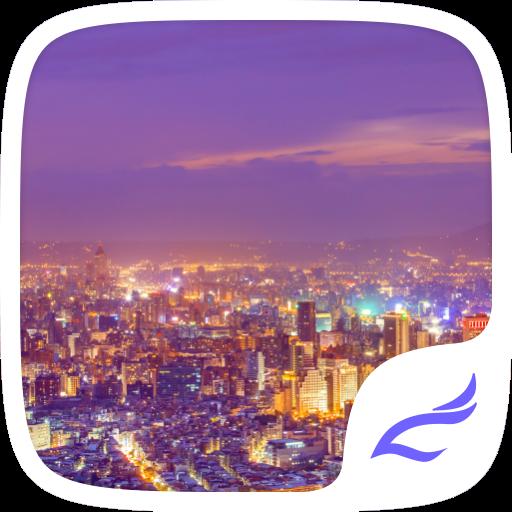 娱乐の都市景観電話のテーマ LOGO-記事Game