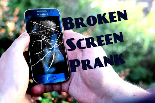 Broken Screen Prank
