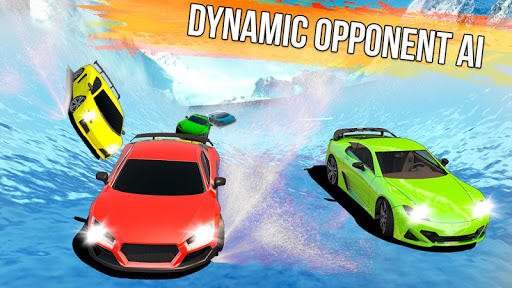 Frozen Water Slide Car Race 1.6 screenshots 16